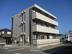 愛知県安城市東栄町3丁目の賃貸アパートの外観