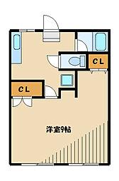 センティール新百合ヶ丘II[1階]の間取り