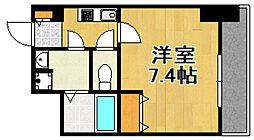 大阪府大阪市港区波除5丁目の賃貸マンションの間取り