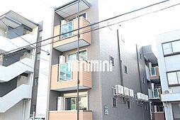 愛知県名古屋市中区松原2丁目の賃貸アパートの外観