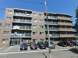 北海道札幌市東区北十九条東21丁目の賃貸マンションの外観