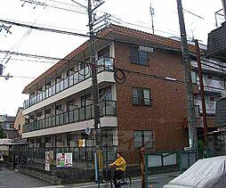 京都府京都市右京区嵯峨中又町の賃貸マンションの外観