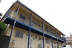 千葉県市川市南八幡3丁目の賃貸アパートの外観