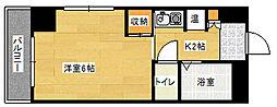 第3ガーデンビル[401号室]の間取り