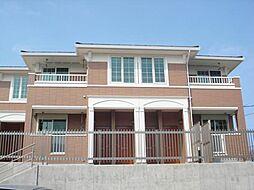 愛知県名古屋市名東区西里町5丁目の賃貸アパートの外観
