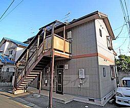 京都府京都市北区上賀茂狭間町の賃貸アパートの外観