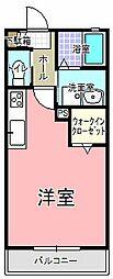 Sun River K・W・D 弐番館[103号室]の間取り
