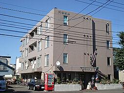 北海道札幌市東区北三十三条東10丁目の賃貸マンションの外観