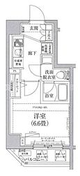 アイルイムーブル弘明寺[6階]の間取り