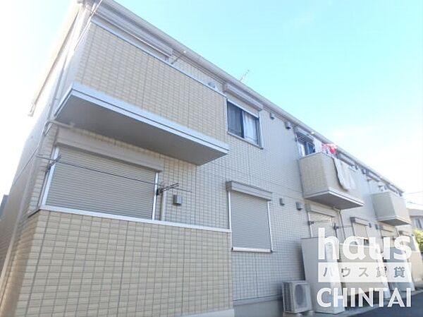 東京都調布市仙川町3丁目の賃貸アパートの外観