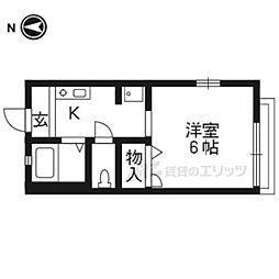 御陵駅 3.5万円