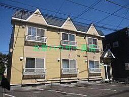 北海道札幌市東区北二十三条東3の賃貸アパートの外観