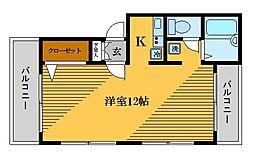 メゾン・フルール[4階]の間取り