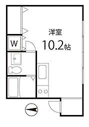 シェスタカメオ2015  bt[101kk号室]の間取り