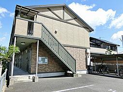 滋賀県甲賀市水口町神明の賃貸アパートの外観