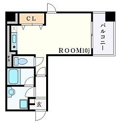 メゾンアイリス[6階]の間取り