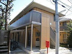 東京都品川区大井7丁目の賃貸アパートの外観写真