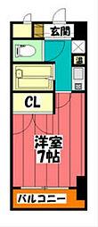 愛知県名古屋市東区筒井3の賃貸マンションの間取り