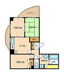 MHビル[2階]の間取り