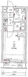 東京都墨田区東駒形3丁目の賃貸マンションの間取り