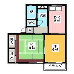 ソファレボナ−ル[2階]の間取り
