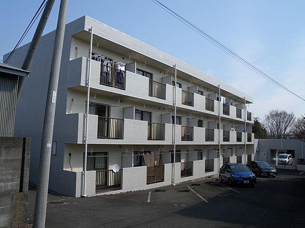 ポンピエール桜ヶ丘A[1f号室]の外観