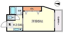 寺沢ビル[3階]の間取り