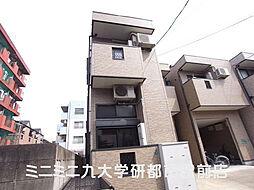 福岡県福岡市東区馬出4丁目の賃貸アパートの外観