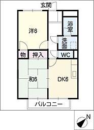 SurplusIIオカダ[2階]の間取り