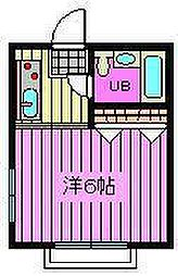 メゾン渋谷[1階]の間取り