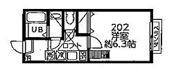 DSコート・21・INOKATA[2階]の間取り