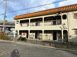 大阪府茨木市天王2丁目の賃貸アパートの外観