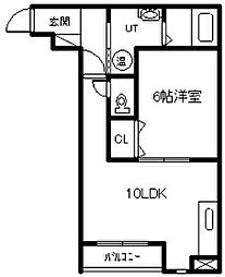新築 Agreable[3階]の間取り