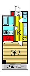 アーバンパレス宮田2[5階]の間取り