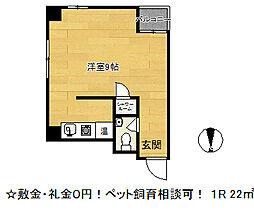 アコーズタワー神戸ウエスト[5階]の間取り