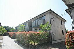 福岡県久留米市上津町の賃貸アパートの外観