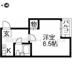 エクラン・ドール[301号室]の間取り