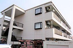 愛知県北名古屋市弥勒寺西3丁目の賃貸アパートの外観