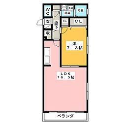 SOL LEVANTE[1階]の間取り