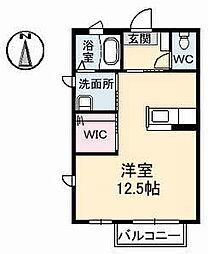 STAGEA 2階ワンルームの間取り
