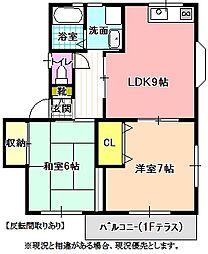 Sコンフォート[2階]の間取り