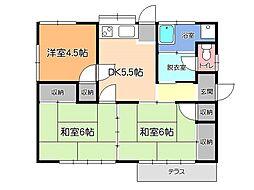 [一戸建] 栃木県宇都宮市野沢町 の賃貸【/】の間取り
