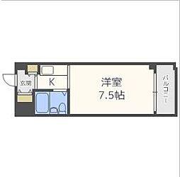 センチュリーパークユニ東梅田[2階]の間取り