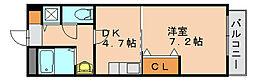 ラメール那珂[2階]の間取り