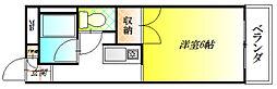 さんさん軽里[5階]の間取り