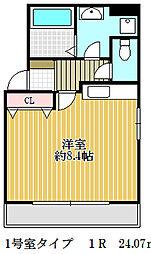 ジェイズマンション[4階]の間取り