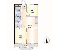 第4三宅ビル[3階]の間取り