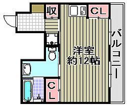 Re−Life阪南[201号室]の間取り