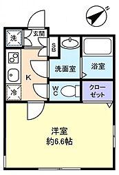 シエロII[1階]の間取り