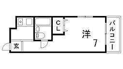 メゾン新神戸[2階]の間取り